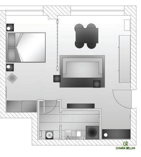 progettare appartamento progettazione di un mini appartamento