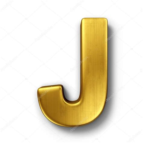 J A | the letter j in gold stock photo 169 zentilia 8292971