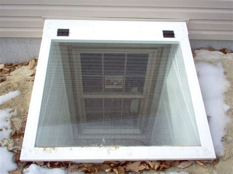 cellar window covers window well covers before after window well cover