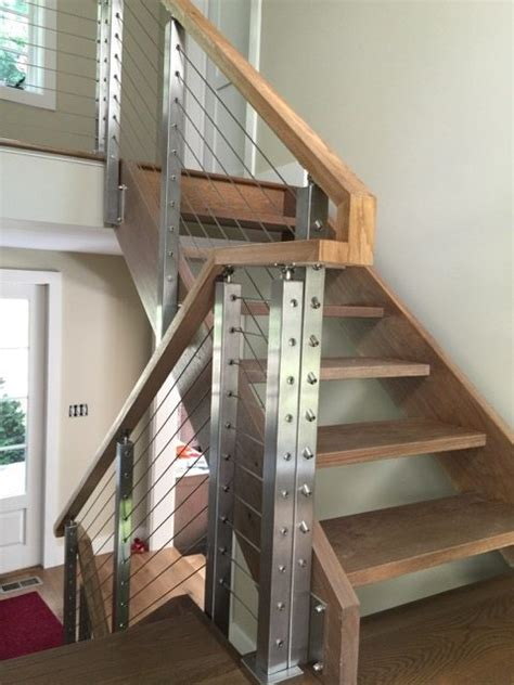 Handrail Solutions project 158 cable railing handrail solutions stairsupplies
