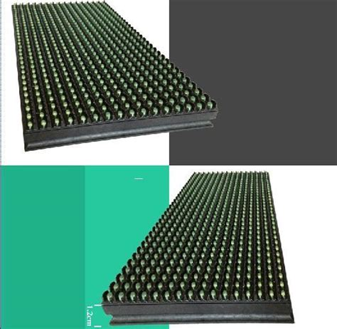 Led Matrix P10 p10 green outdoor dip led display module 32x16 pixels dot