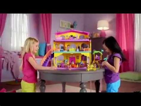 at t dollhouse commercial doll house fisher price commercial