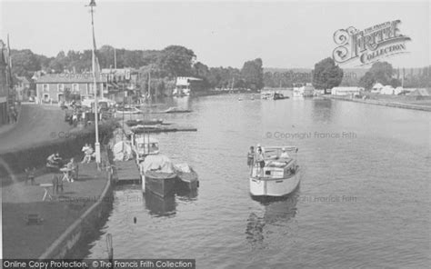 thames river great britain 1950s henley on thames the river thames c 1950 francis frith