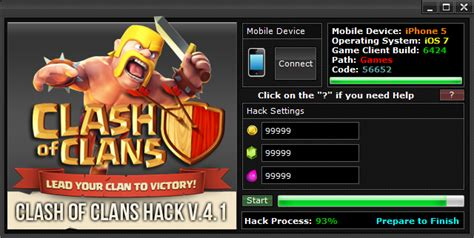tutorial clash of clans hack tool clash of clans hack free instant download