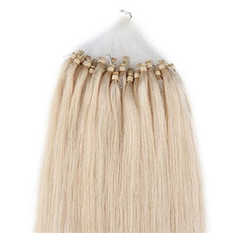 22 inch micro bead hair extensions beauty7 18 20 22 24 loop micro ring tipped remy