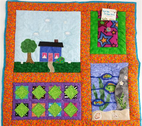 kid quilt activity quilt handmade quilt wall hanging