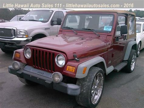Jeep Wrangler For Sale Sc Jeep Wrangler For Sale In Florence Sc Carsforsale