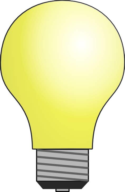 Light Bulb Clip Art At Clker Com Vector Clip Art Online Light Clipart
