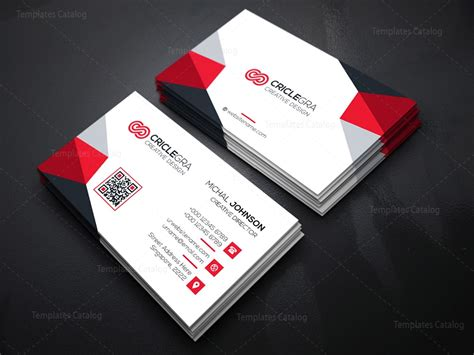 Phlet Card Design Templates by Enterprise Business Card Template 000185 Template Catalog