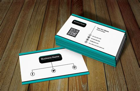 business card with qr code template white ratro business card template with qr code free
