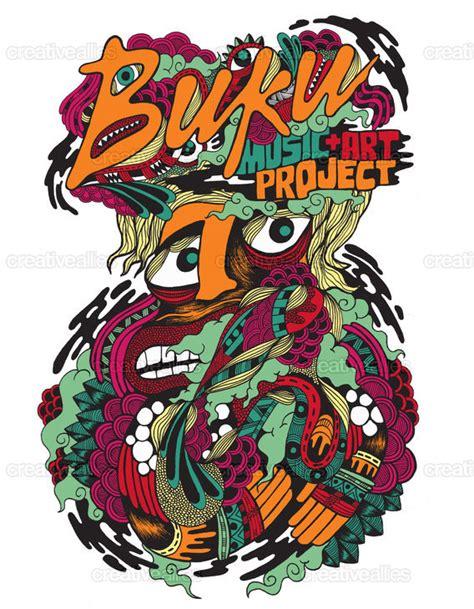 design contest art buku music art project merchandise graphic by paulo correa