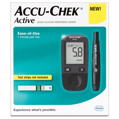 Accuchek Aktif accu chek active meter kit chemist warehouse