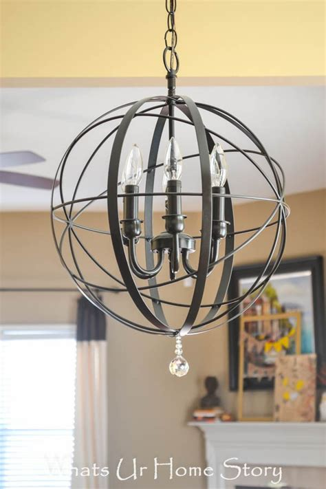 Z Gallerie Chandeliers Z Gallerie Inspired Orb Chandelier Copycat Crafts