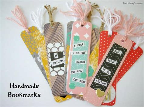 Cool Handmade Bookmarks - 16 easy and bookmark ideas tip junkie
