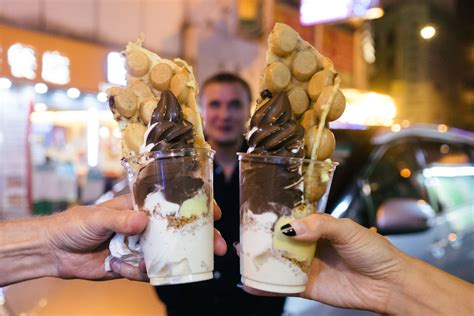 Hong Kong Cray !!! Oddies Foodies Egg Waffle Desserts   That Food Cray