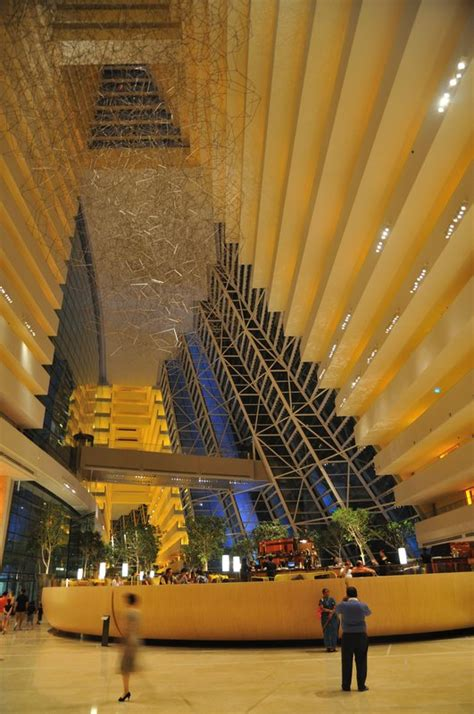 interior  marina bay sands singapore photo