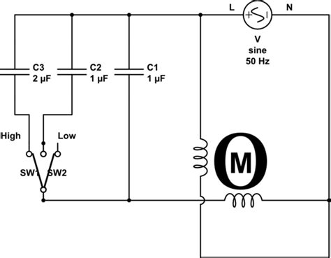 3 sd ceiling fan wiring diagram for capacitor ceiling fan