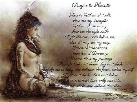 witches prayer prayer to hecate spells