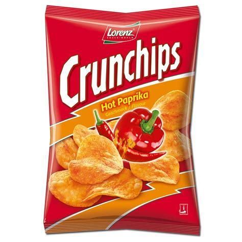Lorenz Chips lorenz crunchips paprika 175g chips 8 beutel knabberartikel chips lorenz chips