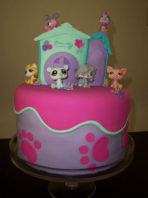 Birthday Cake Shop by Littlest Pet Shop Cake Cakecentral