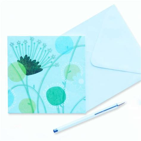 Blank card for own message