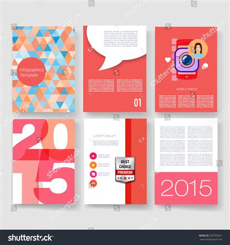 vector poster design templates collection applications