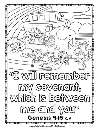 coloring pages noah s ark preschool free printable noah s ark resources for your homeschool