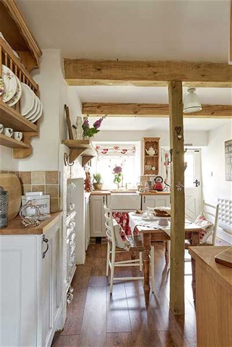 country cottage kitchen cottage filled with upcycled finds period living