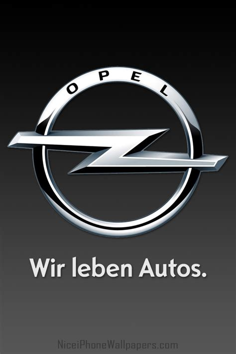 opel logo wallpaper opel hd logo black iphone 4 4s wallpaper and background