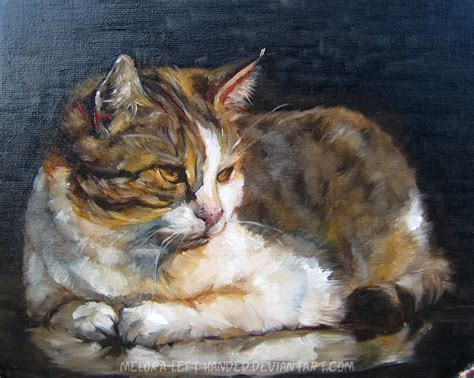 painting cats painting cat by woodland mel on deviantart