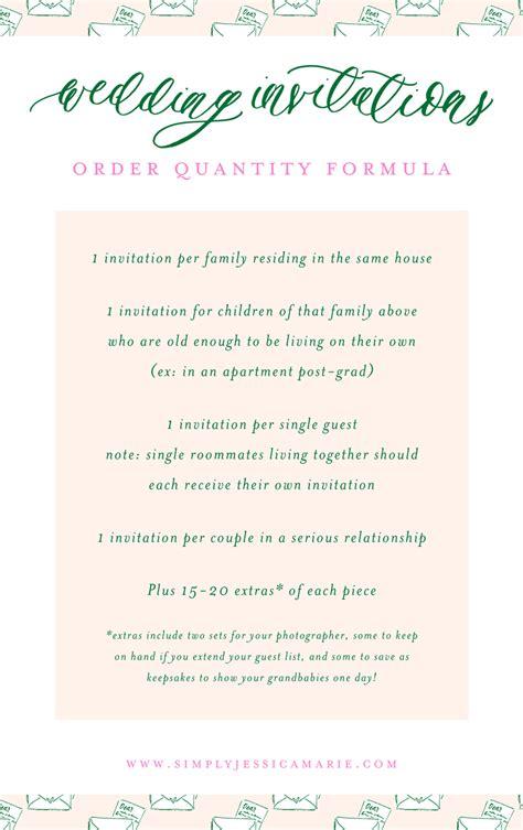 how many wedding invitations should i order