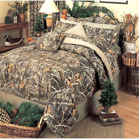 Realtree Shower Curtain - camo bedding realtree max 4 camo bedding collection camo trading