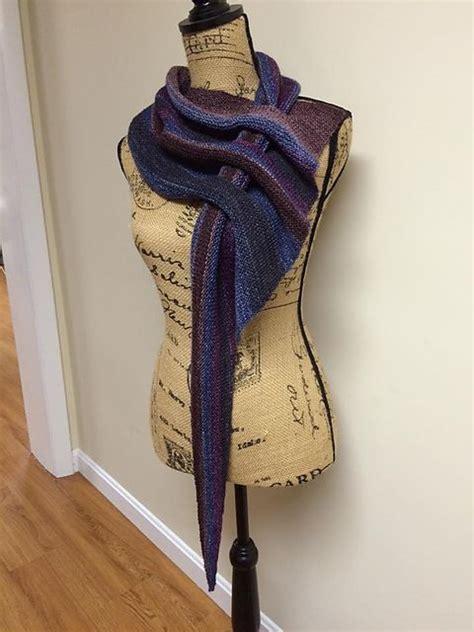 knitting pattern scarf with slot diy knit slot scarf knit arrow caterpillar scarf free
