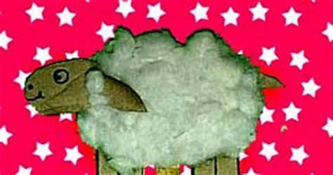 Boneka Anak Domba cara membuat boneka domba dari kardus