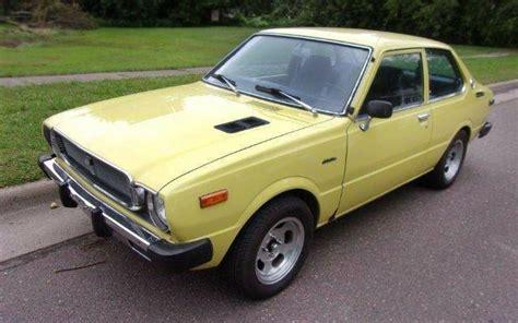 Toyota Corolla 1975 Yellow Fever 1975 Toyota Corolla