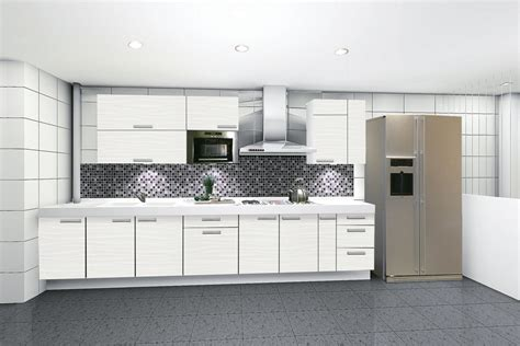 Contemporary White Kitchen Cabinets by Why You Must Purchase Acrylic Kitchen Cabinets My