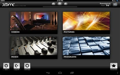 xbmc for android on with the official xbmc 12 frodo for android review