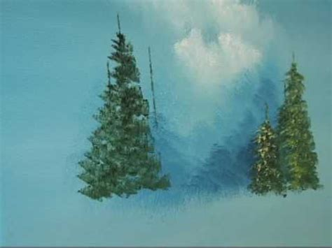 acrylic painting evergreen trees learn how to create up evergreen trees the easy way