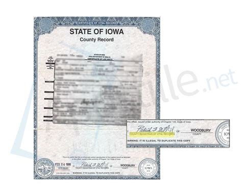 Iowa State Birth Records 17 Best State Of Iowa Sle Apostille Images On