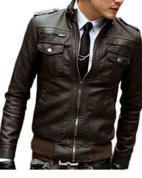 Jaket Kulit Pria Keren 2017 di jual model terbaru 2018 jaket kulit pria keren branded