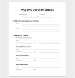 non religious wedding ceremony template wedding outline template 13 for word and pdf format