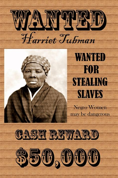 harriet tubman biography spanish wanted poster 2 1 638 blacksportsonline