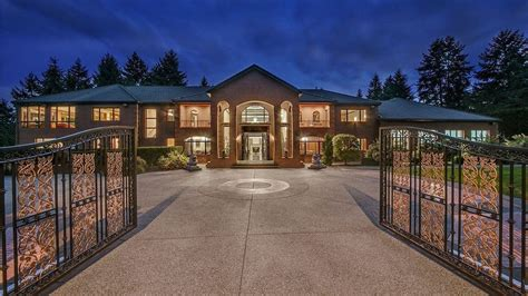 bellevue mansion  height  puget sound luxury