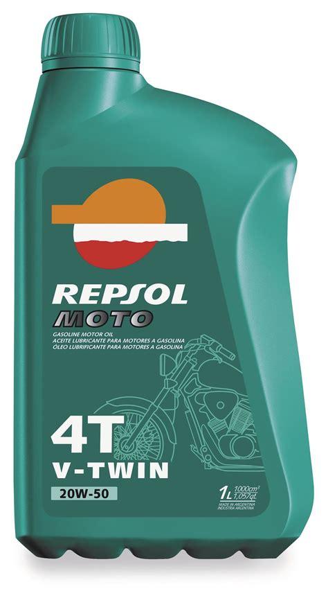 Repsol 4T V Twin 20w50 Motor Oil   RevZilla