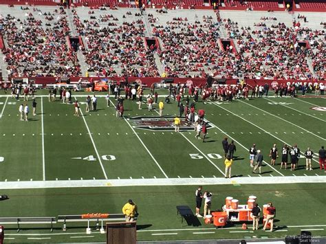 Section 4 Football by 400 Level Williams Brice Stadium Football Seating