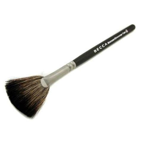 Kuas Make Up Of The Shine Fan Brush Kipas becca bronzing shimmer kuas kipas 39