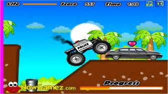 Cool math games police monster truck youtube