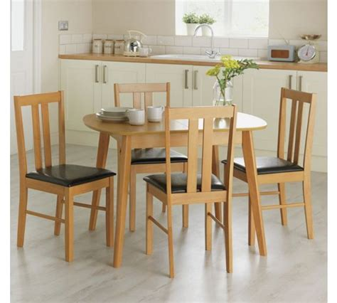 Solid Oak Dining Table And 4 Chairs Buy Home Witley Extendable Table And 4 Chairs Solid Oak At Argos Co Uk Your Shop For