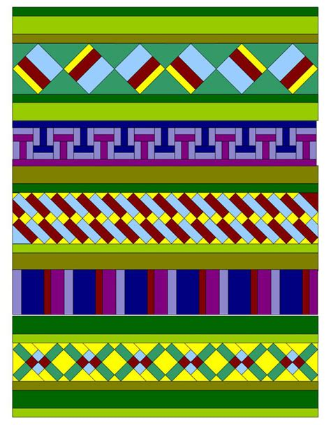 Seminole Patchwork Techniques - patchwork quilting seminole quilt pattern