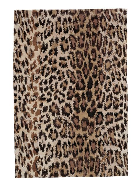 buy leopard rug leopard print rugs in dubai